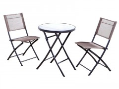 TABLE + 2CHAISES BISTROT
