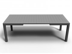TABLE CORFU 270 ANTHRACITE